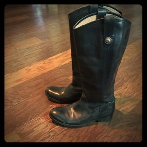 Frye Women's Melissa II button riding boots